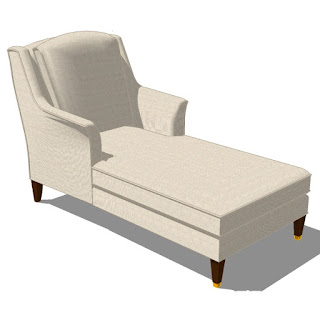 Sketchup - Chair Longue-001