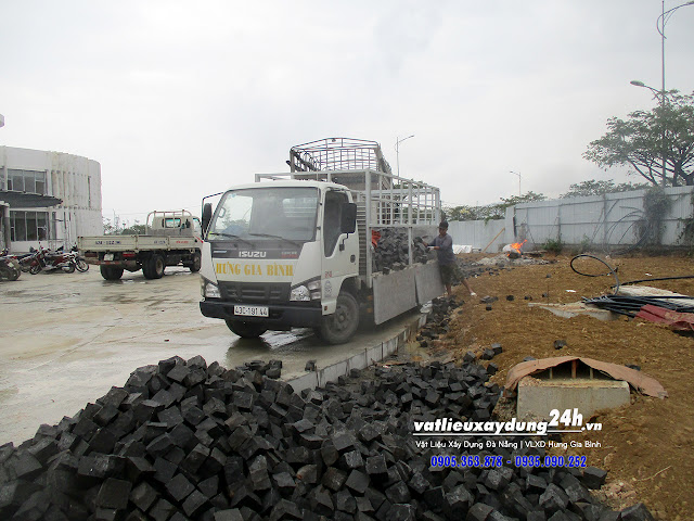 VLXD Hưng Gia Bình - Nhà phân phối đá tự nhiên cubic đen tại Đà Nẵng, Hội An