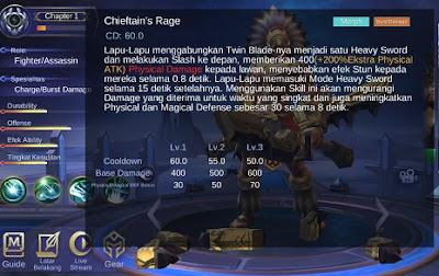 Skill ultimate Lapu-lapu Mobile Legends