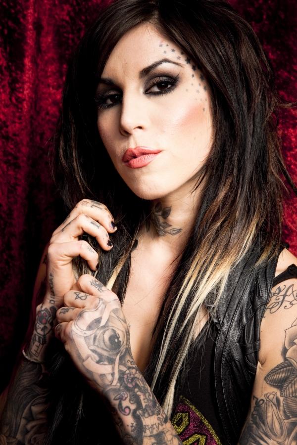 Kat von D una de las tatuadoras que mas dinero gana