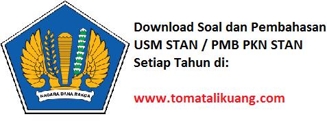 soal usm stan 2020; soal pmb pkn stan 2020; www.tomatalikuang.com