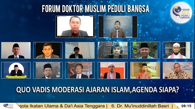 7 Poin Utama Pernyataan Sikap Profesor dan Doktor Muslim Terkait Quo Vadis Moderasai Ajaran Islam