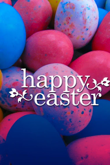 Happy Easter download free wallpaper for Apple iPhone 4