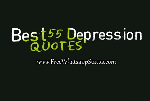 50+ Short Depression Quotes, Depressed Love Sayings For Whatsapp