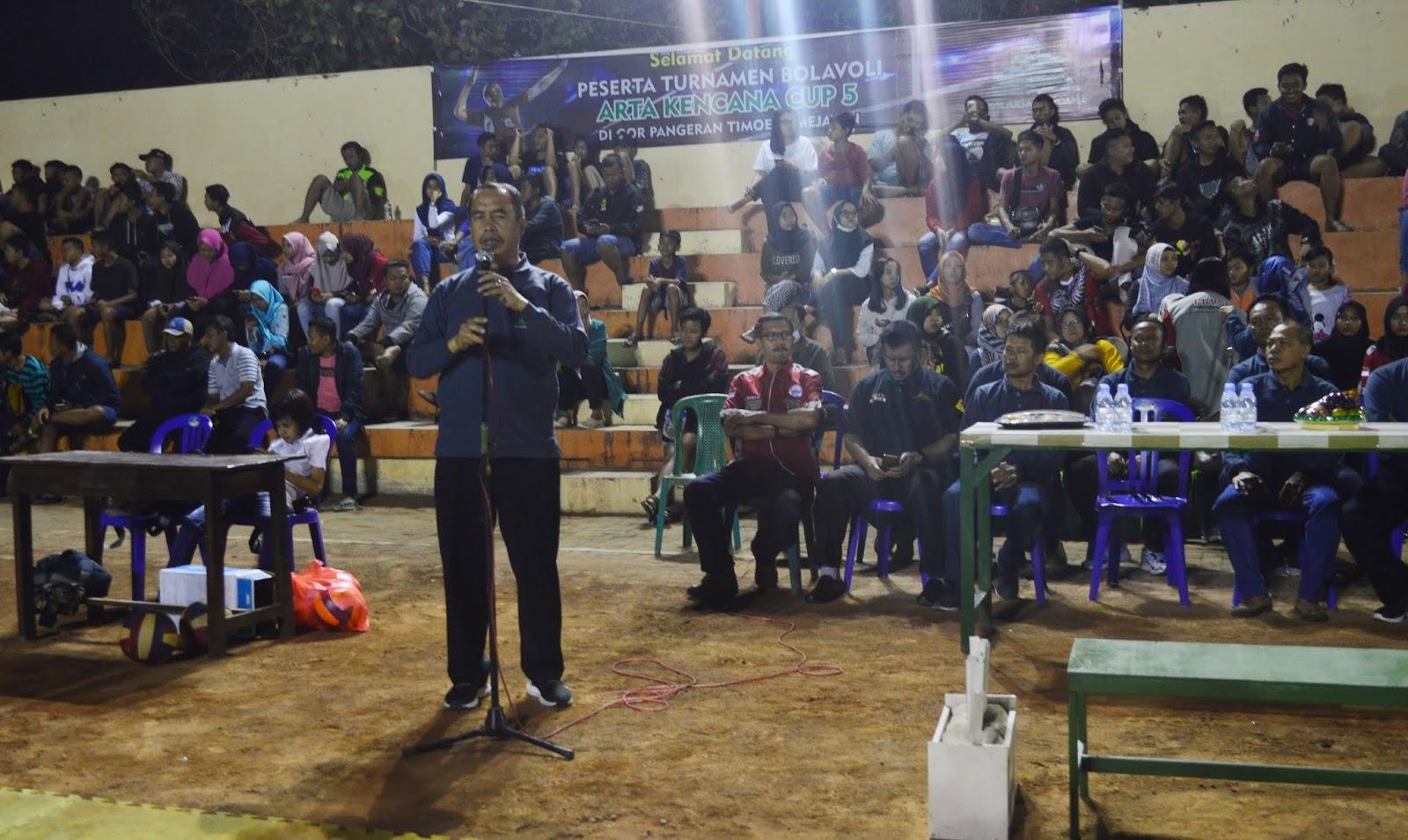 Turnamen Voli Semarakan 28 Tahun KBPR Arta Kencana PEWARTA