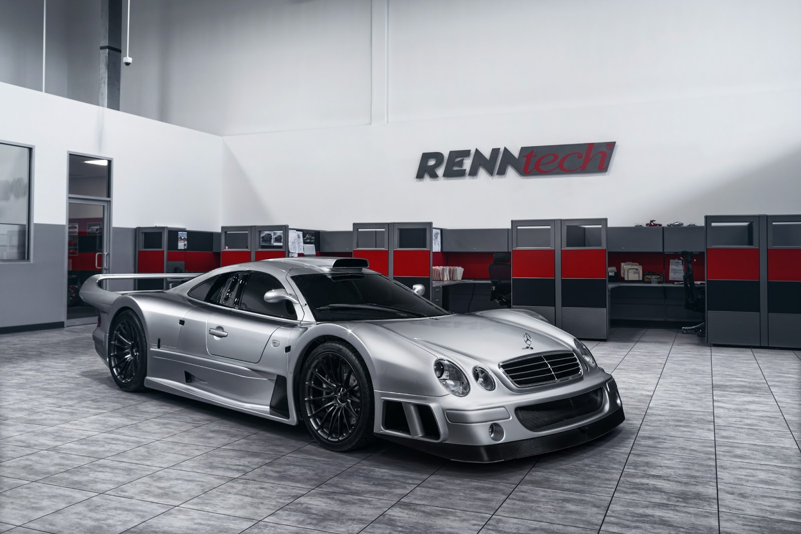 renntech news mercedes clk gtr a true supercar unicorn. Black Bedroom Furniture Sets. Home Design Ideas