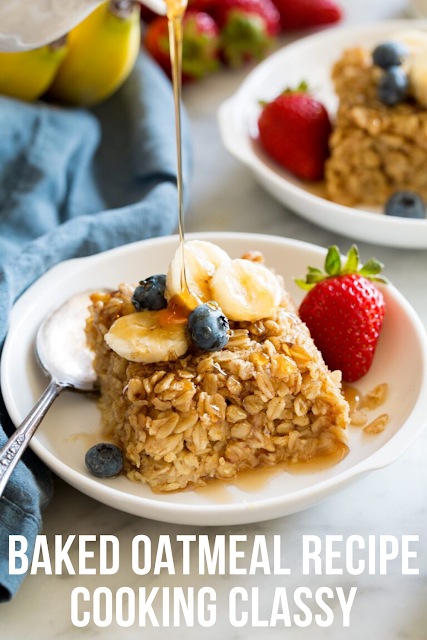 Baked Oatmeal Recipe - Cooking Classy