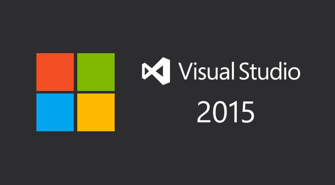 Microsoft Visual Studio 2015 Full Version