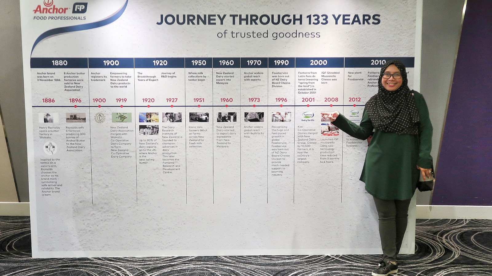 Tahniah!! Kini Anchor Legendairy Berusia 133 Tahun