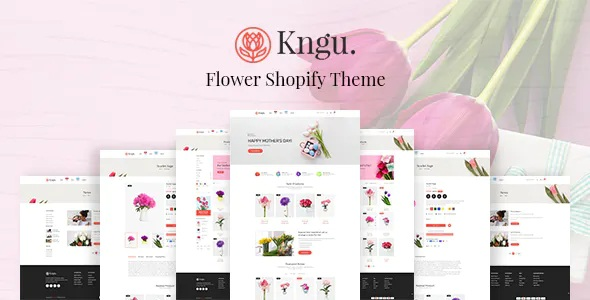 Best Flower Shop Shopify Theme
