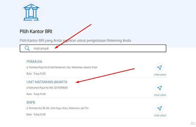 Langkah 5 Buka Rekening BRI Simpedes Online