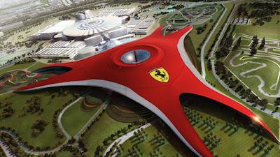 Ferrari, Ferrari theme park