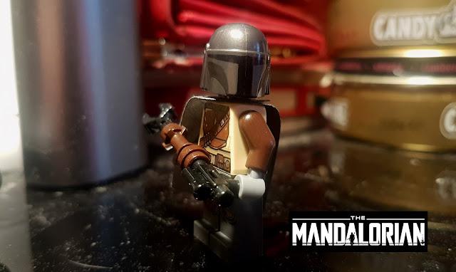 Фигурка лего Мандалорец Звездные войны