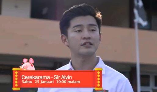Cerekarama SIR ALVIN (TV3)