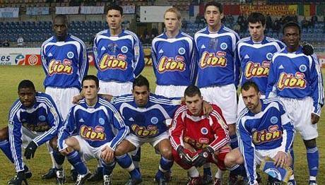 Fransa 1. ligi şampiyonları RC Strasbourg Alsace - Kurgu Gücü