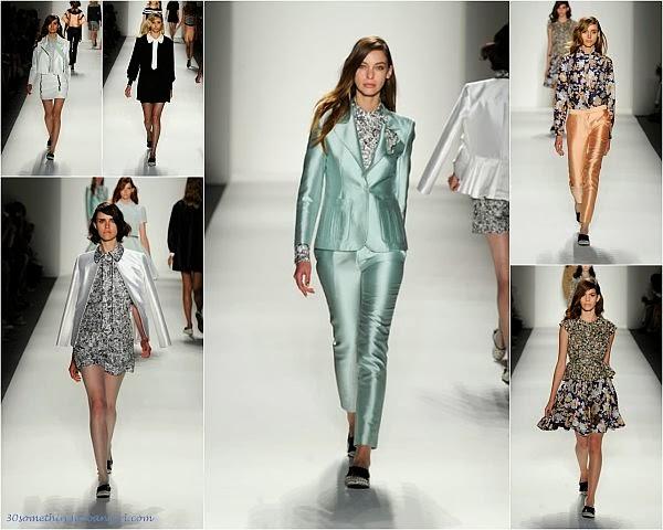 Ruffian S/S2014 runway dresses