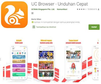 5 Aplikasi Browser Terbaik dan Tercepat di Android