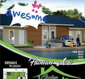 """dijual rumah di perumahan Griya Morin Indah """"Namorambe Indah"""" <del>Rp 200.000.000,-</del> <price>Rp 150.000.000,-</price> <code>GRIYAMORIN</code>"""