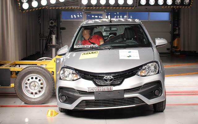 Toyota Etios 2020 - Latin NCAP