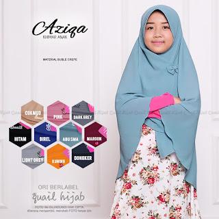aziqa ori quail hijab