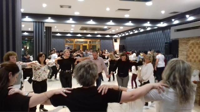 Γλέντι - καλοσώρισμα για την υποδοχή των πρωτοετών ενηλίκων στον Σύλλογο Ελληνική Παράδοση