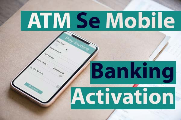 mobile banking activation