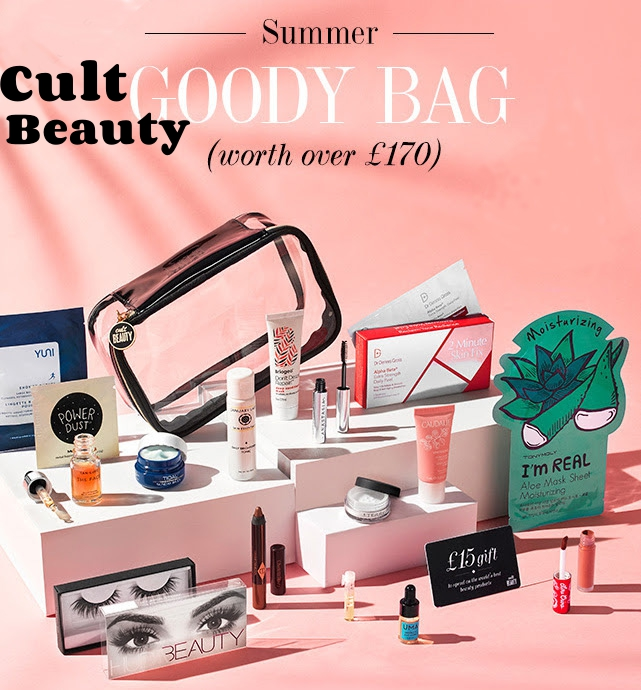 Cult Beauty's Summer 2017 Goody Bag is here