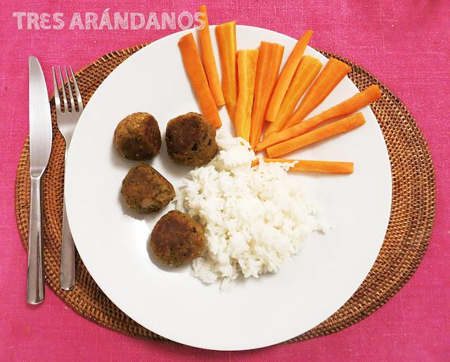 albondigas vegetarianas berenjena