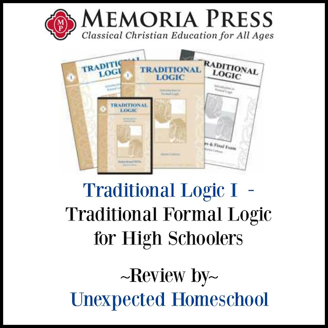 Unexpected Homeschool: Review of Memoria Press - Traditional Logic I