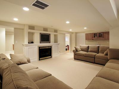 cielo raso panel yeso en salas de estar