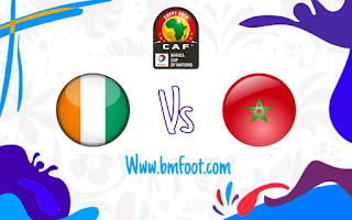 مشاهدة مباراة المغرب و ساحل العاج مباشر