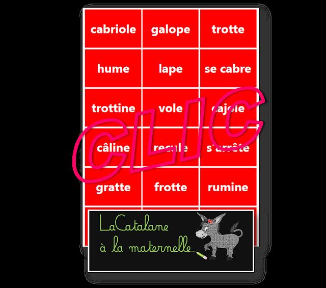 La ferme Montessori - verbes (LaCatalane)