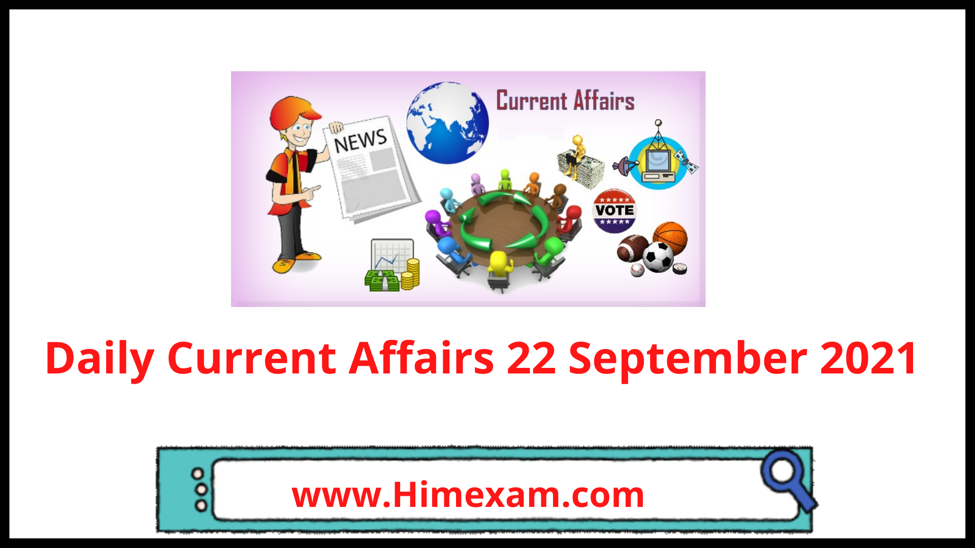 Daily Current Affairs 22 September 2021