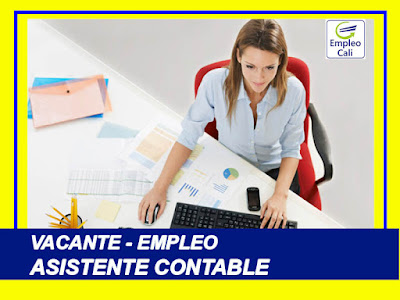 Empleo y trabajo como  Auxiliar Administrativo Contable en Bogota