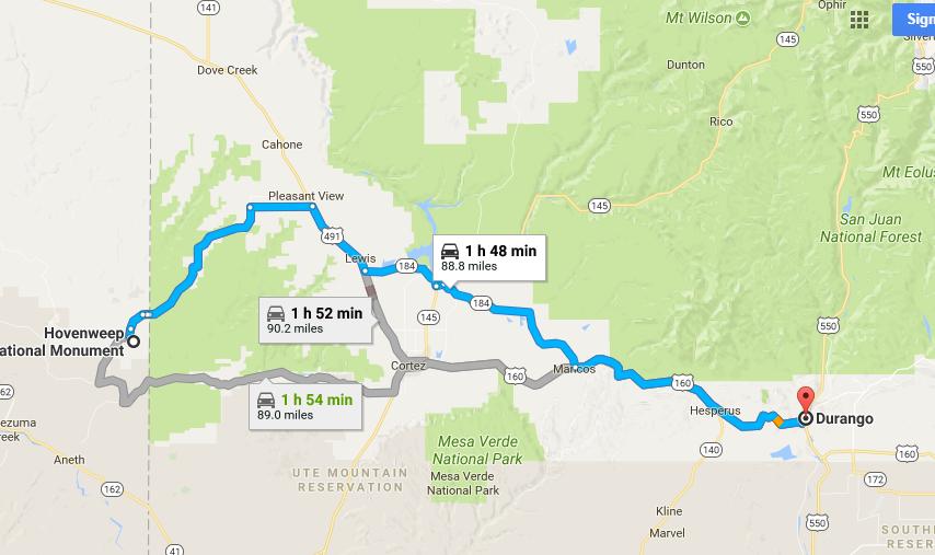 4960 Miles: Berlin - Vancouver - Denver: Hovenweep National ...