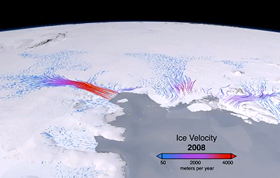 NASA Spots 'Unstoppable' Antarctic Ice Sheet Melt
