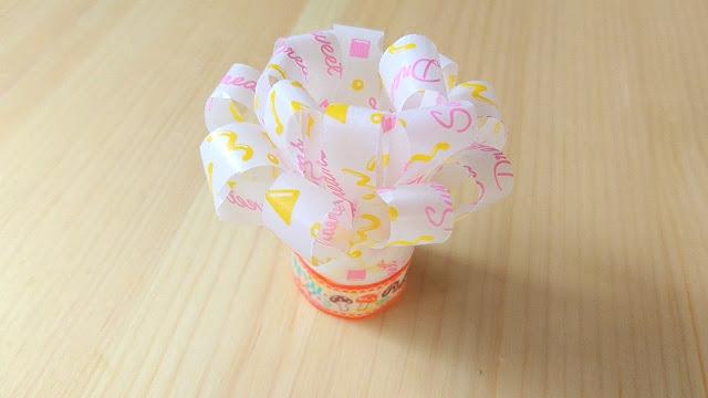 チャップ花(チキンレッグの持ち手・紙飾り・ペーパーフリル)の作り方