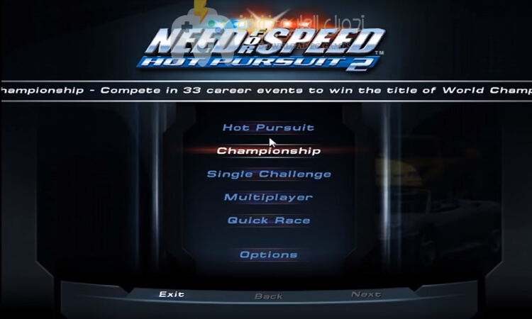تحميل لعبة Need for Speed Hot Pursuit 2 برابط مباشر للكمبيوتر