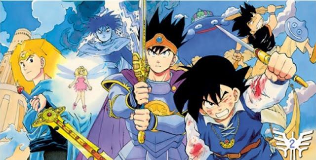 Anime manga Dragon Quest