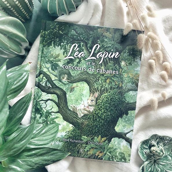 Album jeunesse : Léa Lapin et le concours de cabanes