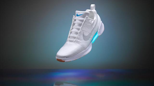 Nike's self-tying sneakers — Nike HyperAdapt 1.0