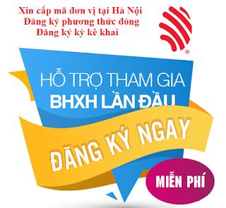 Hướng dẫn cấp mã đơn vị bhxh lần đầu tại Hà Nội trên Bkav Ivan