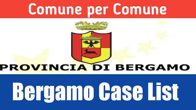 Comune de hisab nal Bergamo di list 10/03/2020
