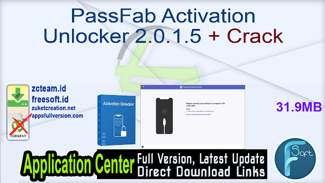PassFab Activation Unlocker 2.0.1.5 + Crack