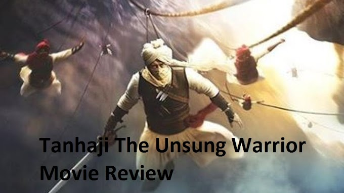 Tanhaji The Unsung Warrior Movie Review: Great performance by Ajay, Kajol and Saif.