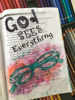 Journaling Through The Proverbs - Proverbs 5 by Lynn Shokoples