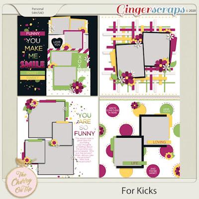 4 kicks templates