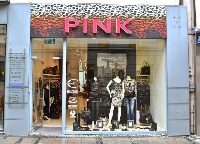 PINK - LOJA DE MARCAS COMO JUST CAVALI, LOVE MOSCHINO