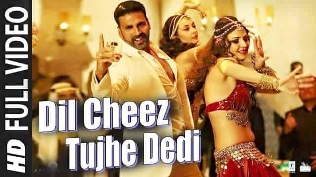 दिल चीज़ तुझे देदी Dil Cheez Tujhe Dedi Hindi Lyrics