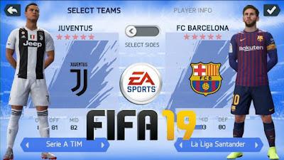 تحميل لعبة FIFA 2019 اوفلاين للاندرويد بحجم 600 ميغا فقط باخر الانتقالات والاطقم